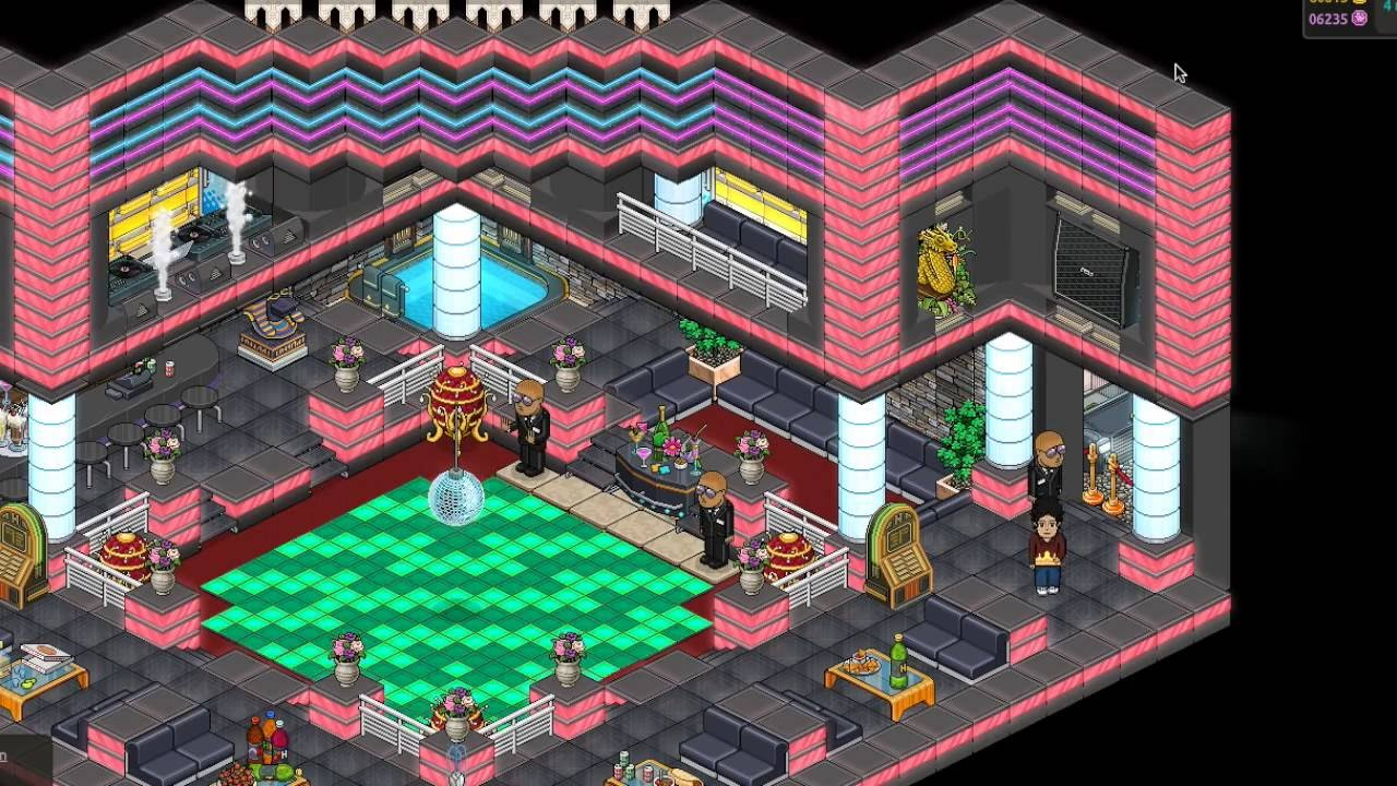 Leethotel Habboretro - Night Club JamBz - YouTube