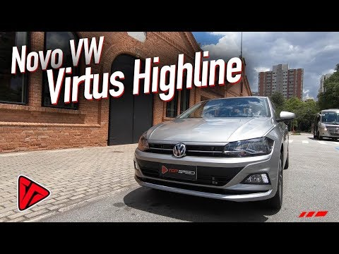 Avaliação Novo VW Virtus Highline 1.0 200 TSI  | Canal Top Speed