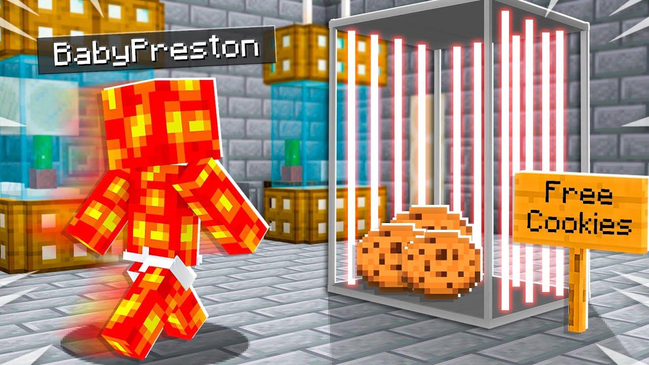 7 Ways to Trap Baby Preston in Minecraft! thumbnail