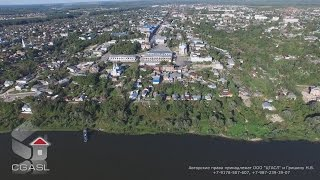 �������� ���� Аэросъемка города Касимов (панорама) ������