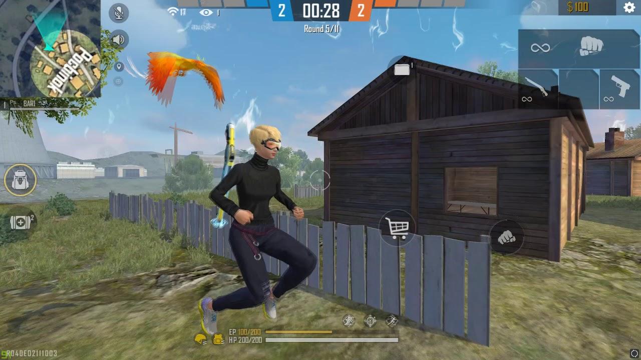 Free Fire Full GamePlay 👽  BAR1  vs RUOK 🥳🇹🇭