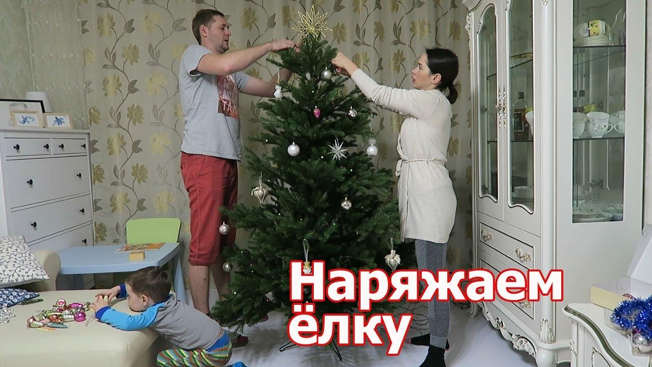 VLOG: Наряжаем елку / Вешаем советские игрушки
