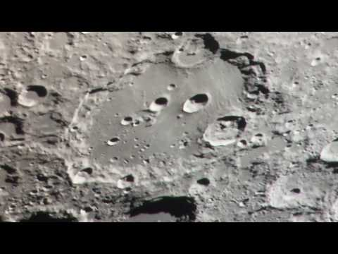 Clavius Crater on the moon
