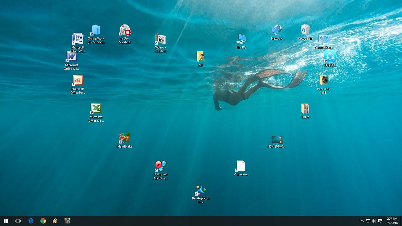best desktop icon toy for windows pc & laptop - youtube
