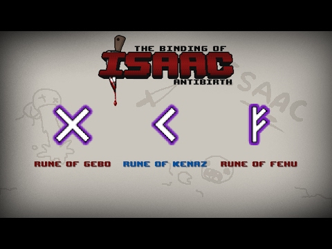 Binding of Isaac: Afterbirth Item guide - Rune Bag - YouTube