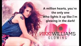 Glowing - Nikki Williams  Lyrics