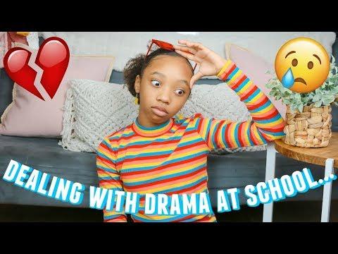 how to AVOID DRAMA AT SCHOOL 2020   GIRL ADVICE   just jordyn