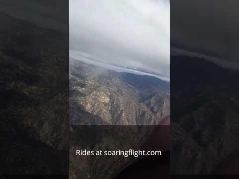 SoaringFlight.com : Ridge Soaring over the Catalina Mountains,  Tucson AZ
