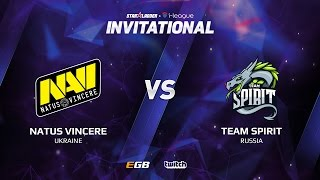 Natus Vincere vs Team Spirit, Game 3, SL i-League Invitational S2, EU Qualifier