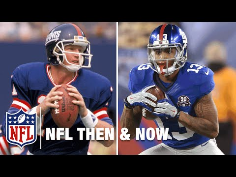 Phil Simms and Odell Beckham Jr. | New York Giants | NFL Then & NFL Now