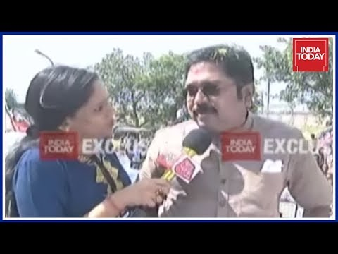 India Today Exclusive | TTV Dinakaran Speaks Exclusively To India Today From RK Nagar