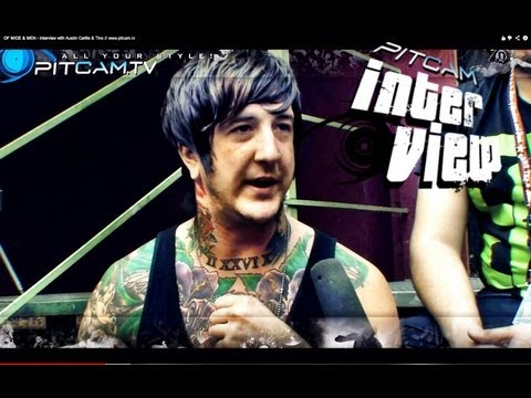 OF MICE & MEN - Interview with Austin Carlile & Tino // www.pitcam.tv