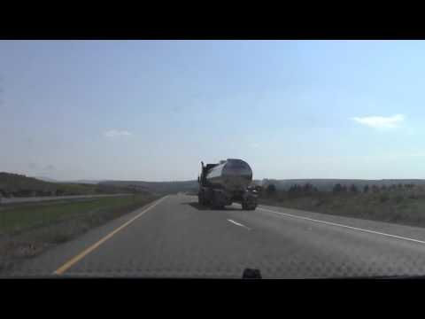 New Brunswick Route 2 (Trans-Canada Highway) Edmundston to Fredericton