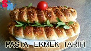Pasta Ekmek Tarifi Nasıl yapılır Sibelin mutfağı ile yemek tarifleri