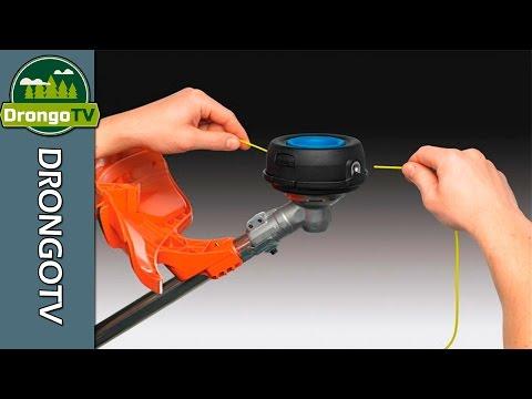 Как разобрать катушку электрического триммера видео