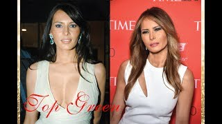 Melania Trump - Then and Now