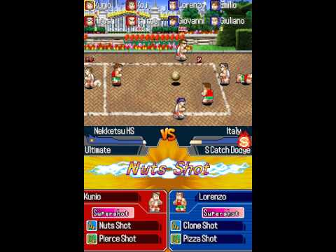 Nintendo DS Longplay [101] Super Dodgeball Brawlers