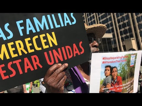 Nationwide Protests Demand End to Family Separations