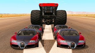 Monster Truck Madness #2 - BeamNG drive