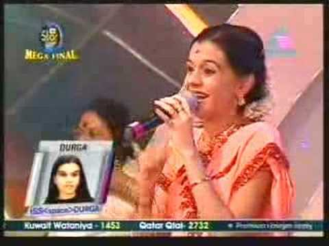 Idea Star Singer Mega final Durga singing