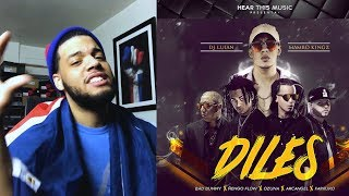 Diles - Bad Bunny, Ozuna, Farruko, Arcangel, Ñengo Flow- Diles Video De Letra Reaccion