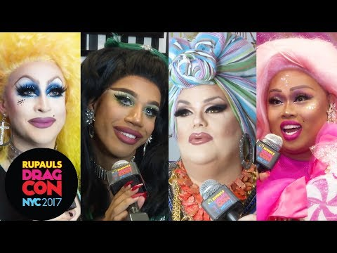 Drag Queens React: Coming Out Day at RuPaul's DragCon NYC 2017