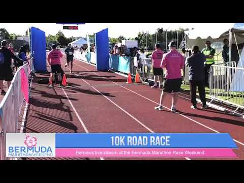 Bermuda Marathon Weekend 10K Finish Line, Jan 19 2019