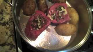 Chef Warren Goodgoll ~filet Mignon /w Red Wine And Shallots