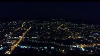 O.Z CINEMA - Ночная Бугульма с высоты птичьего полета.