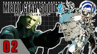 METAL GEAR SOLID 2: SONS OF LIBERTY | Metal Gear Saga Part 15: WHO IS RAIDEN?!