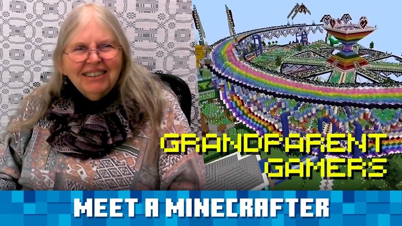 Meet a Minecrafter: Grandparent Gamers