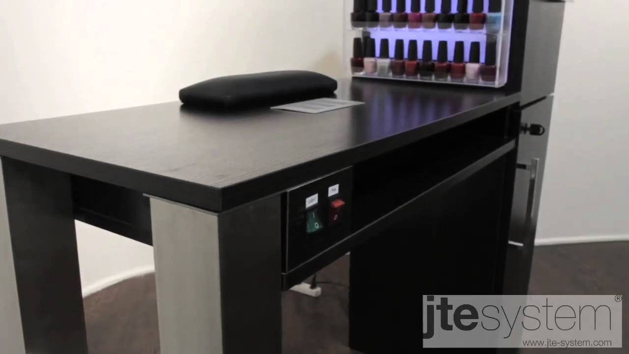 Manicure Table MT-07 - YouTube