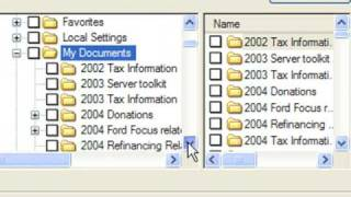 Restoring files using NTbackup or Windows XP Backup