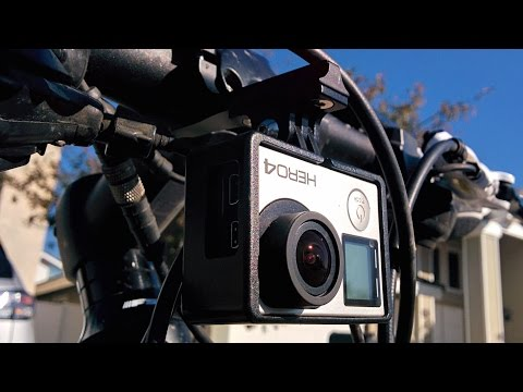 GoPro Hero4 Silver and Fotasy HEROBMK  Handlebar Mount Test