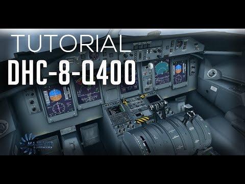 Majestic Dash 8 Q400 Tutorial