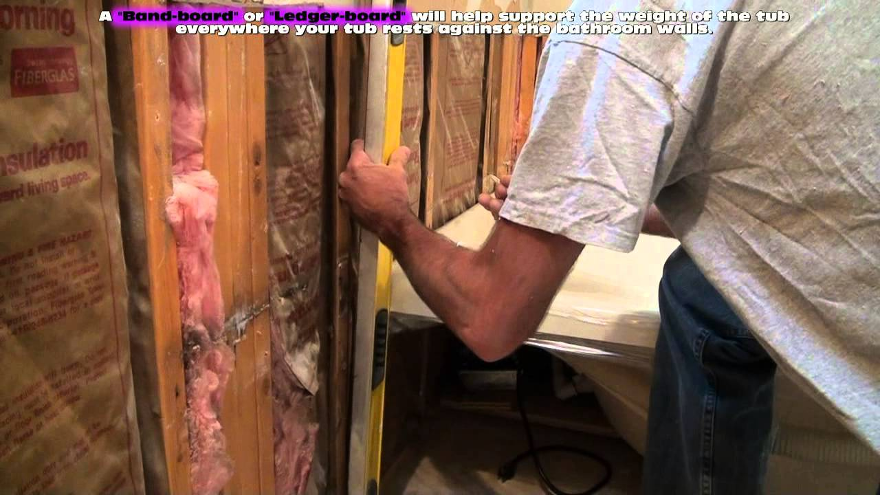 Installing a Whirlpool Jet Tub - YouTube