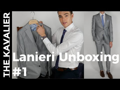 My First Lanieri Custom Suit Unboxing
