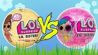LOL Surprise Lil Sisters • Challenge: Seria 3 vs. Seria 4