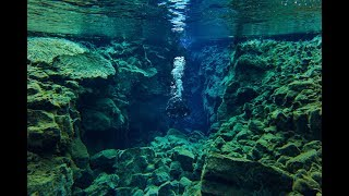 The Secret of Silfra   Incredible Diving Footage from Iceland's Crystal Clear Lagoon