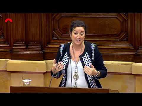 Alícia Romero presenta la Moció sobre Política Fiscal 22/11/18