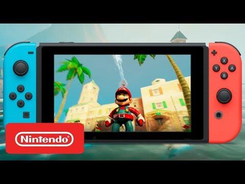 Super Mario Sunshine HD - Offical Gameplay Trailer 3