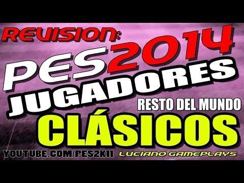 PES 2014 Revisión Jugadores Clásicos