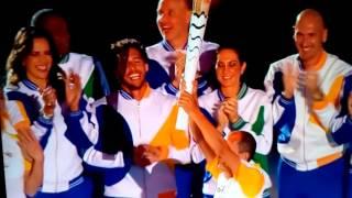 Зажжение Олимпийского огня в Рио-де-жанейро 2016(, 2016-08-06T03:10:07.000Z)