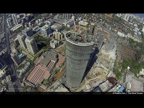 "Stunning Drone Video of Mumbai's Tallest Tower - ""The World One"""