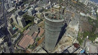 Stunning Drone Video of Mumbai's Tallest Tower -