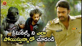 క్రిమినల్స్ ని ఎలా పోయిస్తున్నాడో చూడండి - Latest Telugu Scene - Nara Rohit, Priya Banerjee