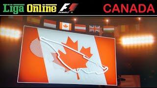 GP do Canadá (Montreal) de F1 2019 - Liga Online F1 - Cat. Base (3ª Divisão)