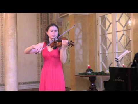 Ysaye Sonata No2 Maryana Osipova