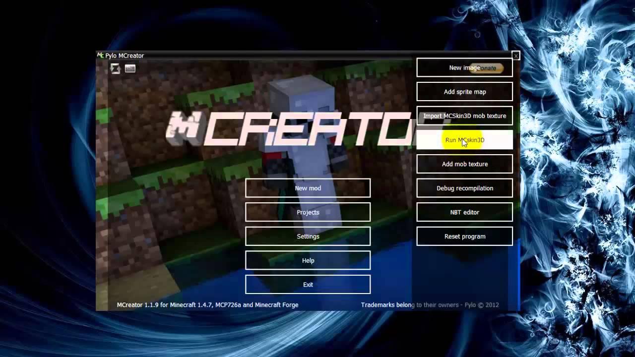 Mcreator 1. 3. 7 для minecraft 1. 6. 4.