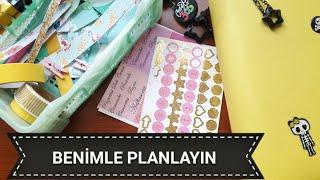 Benimle planlayın / 30. hafta / doki book ajanda plan with me / derle topla çalkala